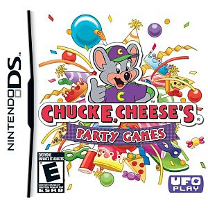 Chuck E Cheese's Party Games DS Game Image