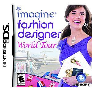 Imagine: Fashion Designer World Tour DS Game