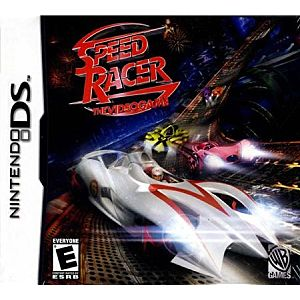 Speed Racer Video Game DS Game Image