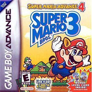 Super Mario Advance 4 - Super Mario Brothers 3