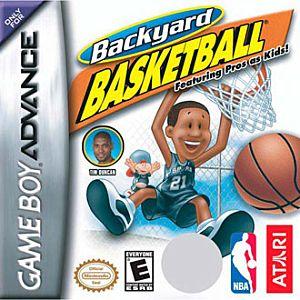 backyard basketball nintendo game boy advance gba