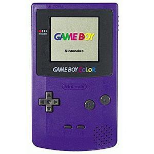 Grape Game Boy Color System
