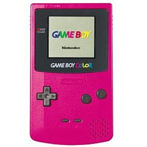 Strawberry Game Boy Color System Image