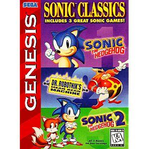 Sonic Classics 3 In 1 Image