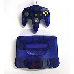 Grape Purple Nintendo 64 System!