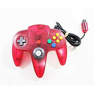 Nintendo 64 N64 Watermelon Red Controller