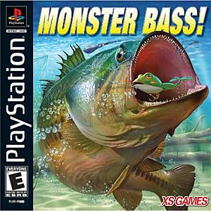 Monster bass sony playstation for Ps4 bass fishing games