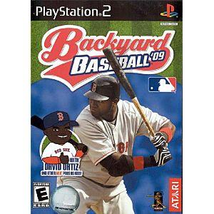 backyard baseball 09 sony playstation 2 game