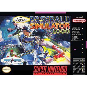 Super Baseball Simulator 1.0