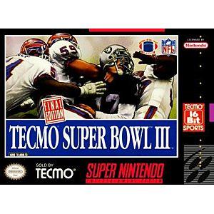 Tecmo Super Bowl III 3 Image