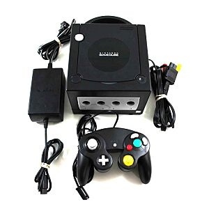 Original Black Nintendo Gamecube System