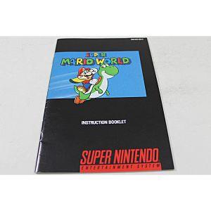 Manual Super Mario World Snes Super Nintendo