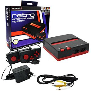 New Retro NES System in Box - Plays NES games! Image
