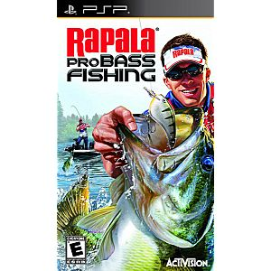 Rapala pro bass fishing 2010 psp game for Ps4 bass fishing games