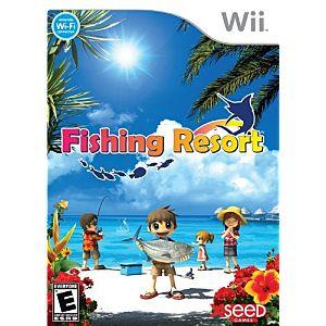 Fishing Resort Nintendo Wii Game