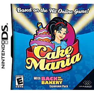 Cake Mania DS Game