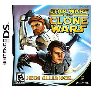 Star Wars Clone Wars Jedi Alliance DS Game