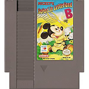 Mickey's Safari Letterland