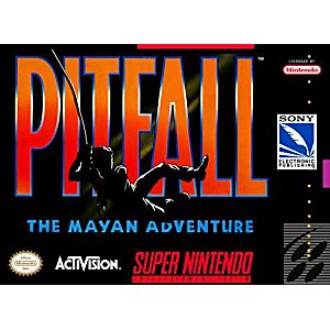 Pitfall Mayan Adventure