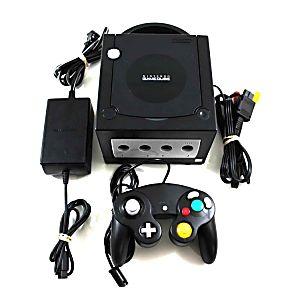 Original Black Nintendo Gamecube System